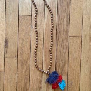 Vineyard Vines Tassel Necklace